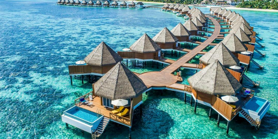 In the atolls of the Maldives