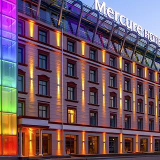 Mercure colorful façade